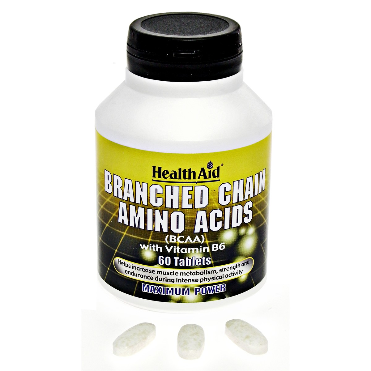 HealthAid Branch Chain Amino Acids + Vitamin B6