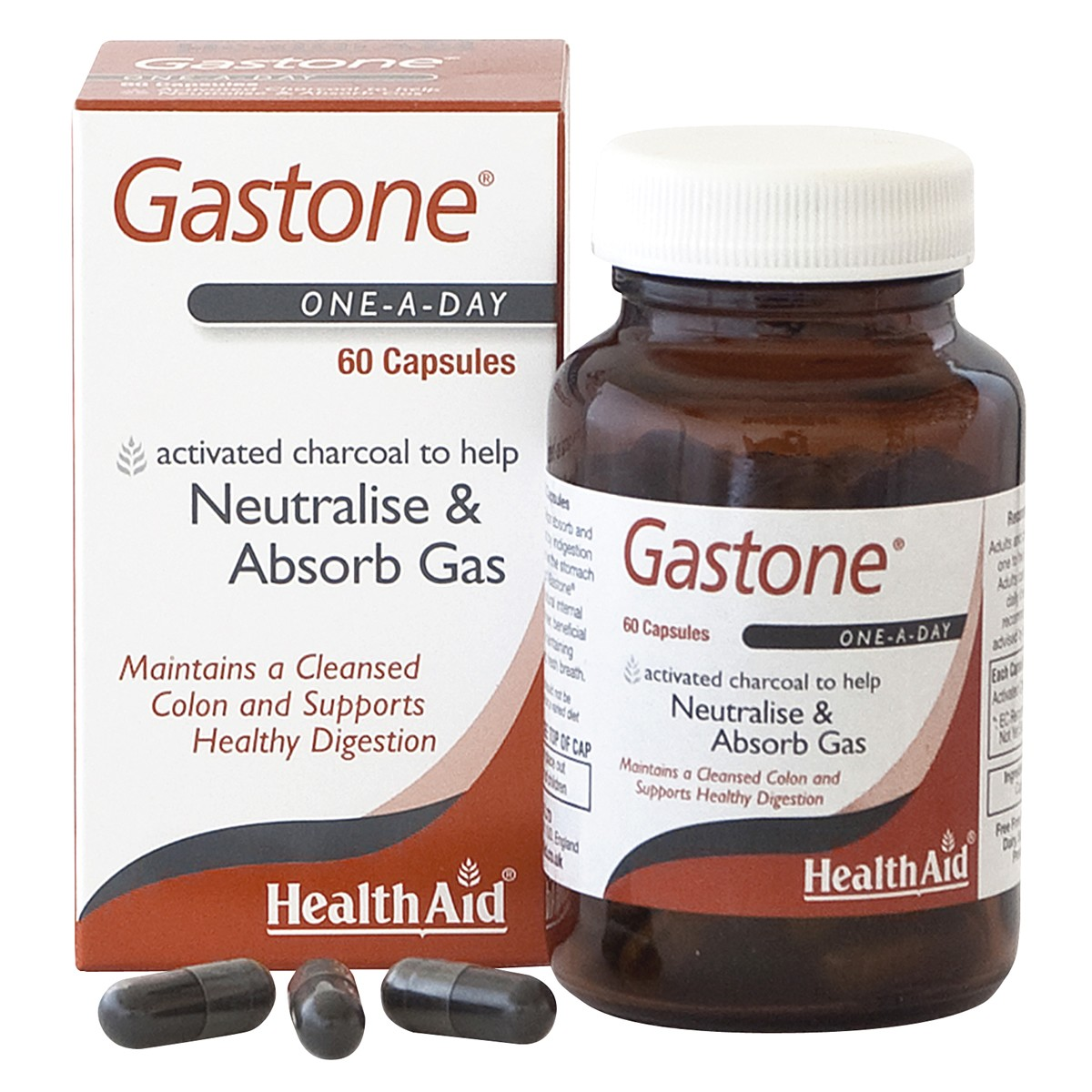HealthAid Gastone (Activated Charcoal)
