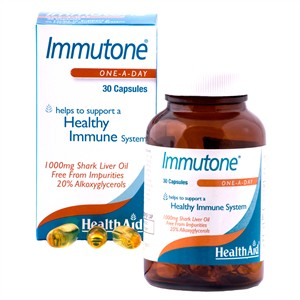 HealthAid Immutone Shark Liver Oil 1000mg