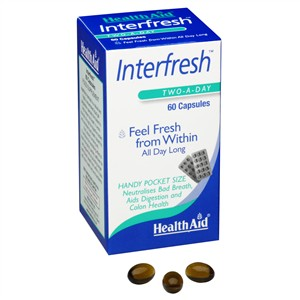 HealthAid Interfresh (Fresh Breath Capsules)