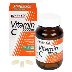 HealthAid Vitamin C 1000mg - Prolonged Release