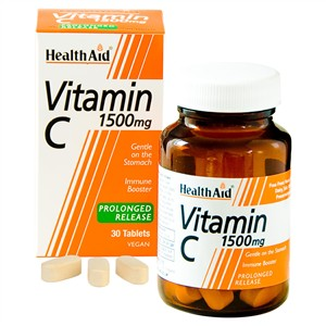 HealthAid Vitamin C 1500mg - Prolonged Release