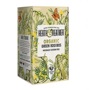 Heath & Heather Organic Green Rooibos Tea