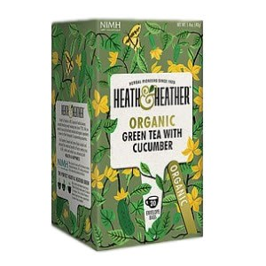 Heath & Heather Organic Green Tea & Cucumber Tea
