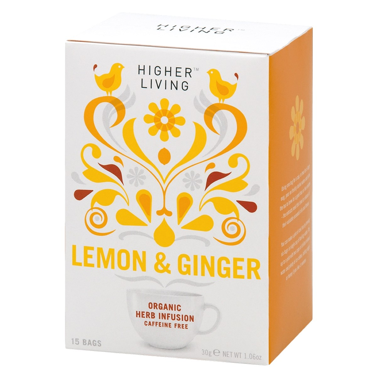 Higher Living Lemon & Ginger Tea