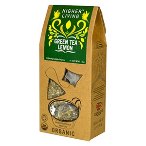 Higher Living Organic Green Tea Lemon
