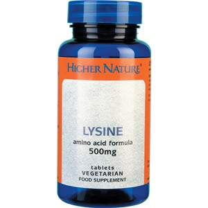 Higher Nature Lysine 500mg