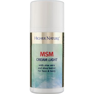 Higher Nature MSM Cream Light