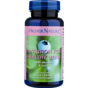 Higher Nature Nutrition for Healthy Veins