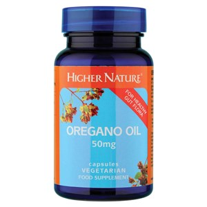Higher Nature Oregano Oil Capsules