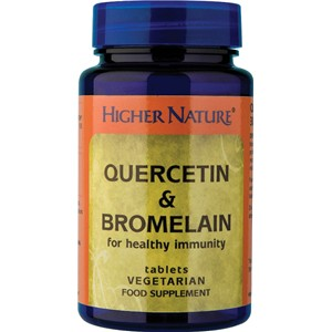 Higher Nature Quercetin & Bromelain