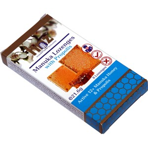 Honey New Zealand Manuka Lozenges with Propolis