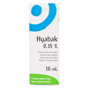 Hyabak 0.15% Eye Drops