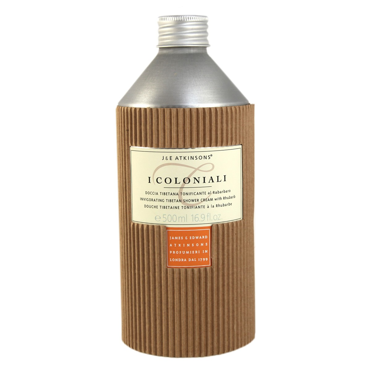 I Coloniali Invigorating Tibetan Shower Cream with Rhubarb