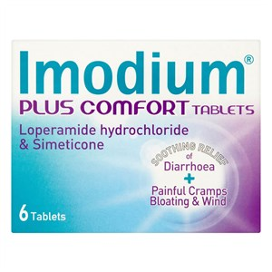 Imodium Plus Comfort Tablets - 6 pack
