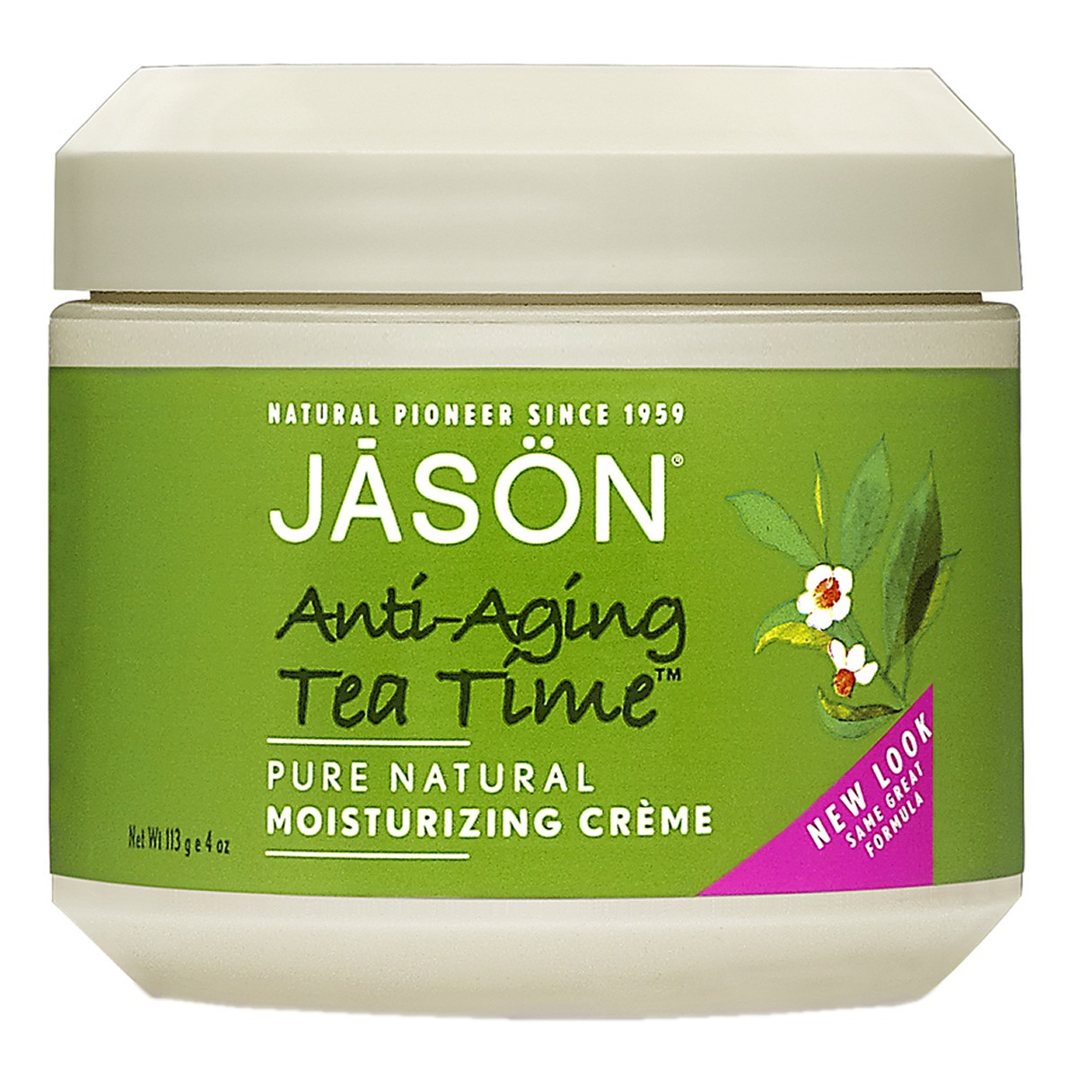 Jason Anti-Aging Tea Time Green Tea Cream