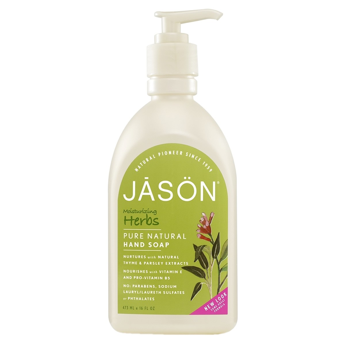 Jason Moisturizing Herbs Hand Soap