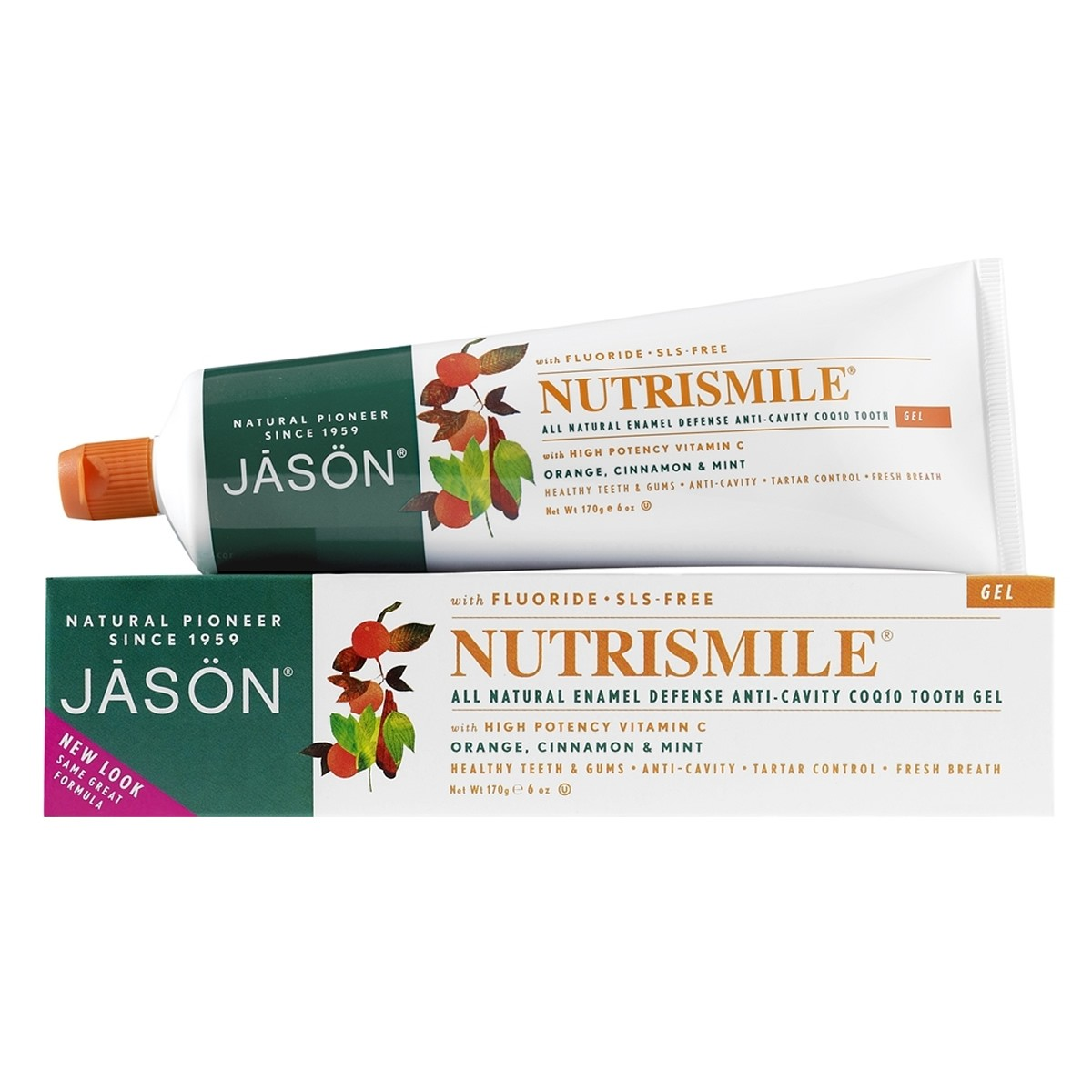 Jason Nutrismile Enamel Defense Anti-Cavity Tooth Gel (With Fluoride)