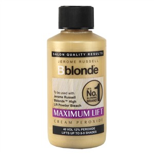 Jerome Russell Bblonde Maximum Lift Cream Peroxide 40 Vol 12% 75ml