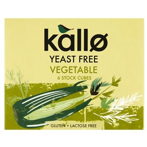 Kallo Vegetable Stock Cubes - Yeast Free