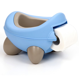 Kids Kit Baby Bug Potty - Blue Beige
