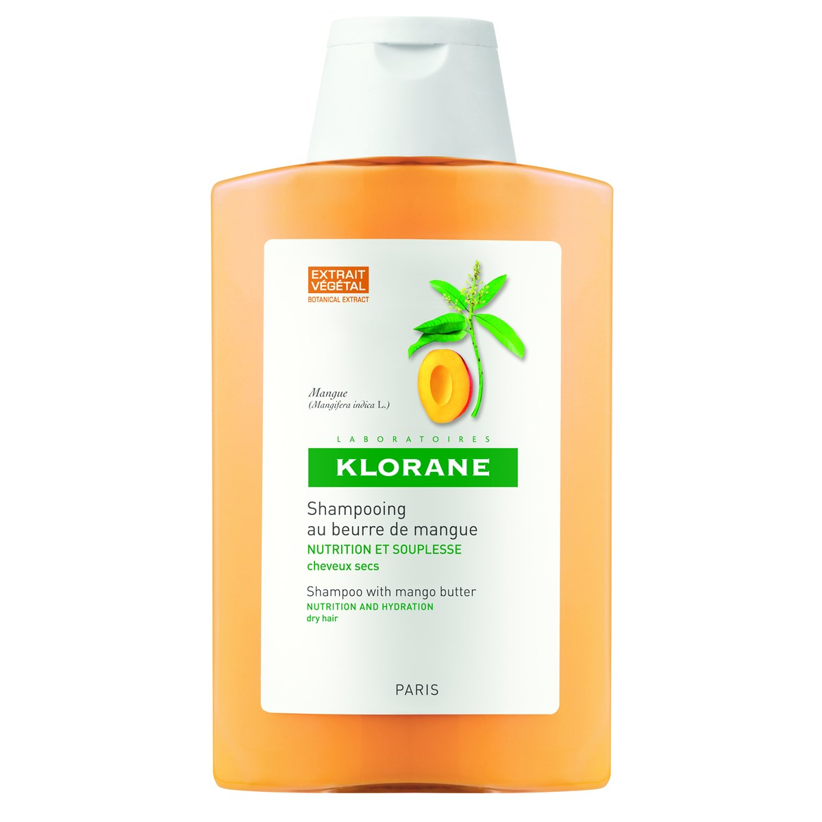 Klorane  Nourishing Treatment Shampoo With Mango Butter