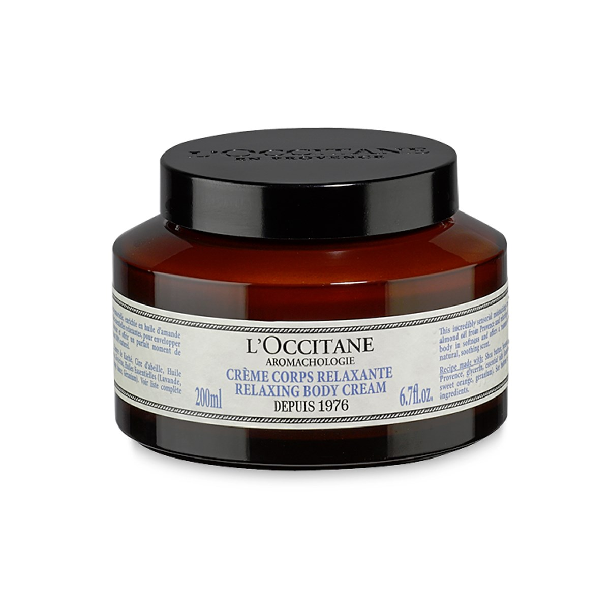 L'Occitane Aromachologie Relaxing Body Cream