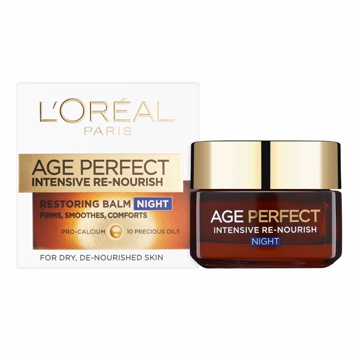 L'Oreal Paris Age Perfect Intensive High Nutrition Night Balm Pot