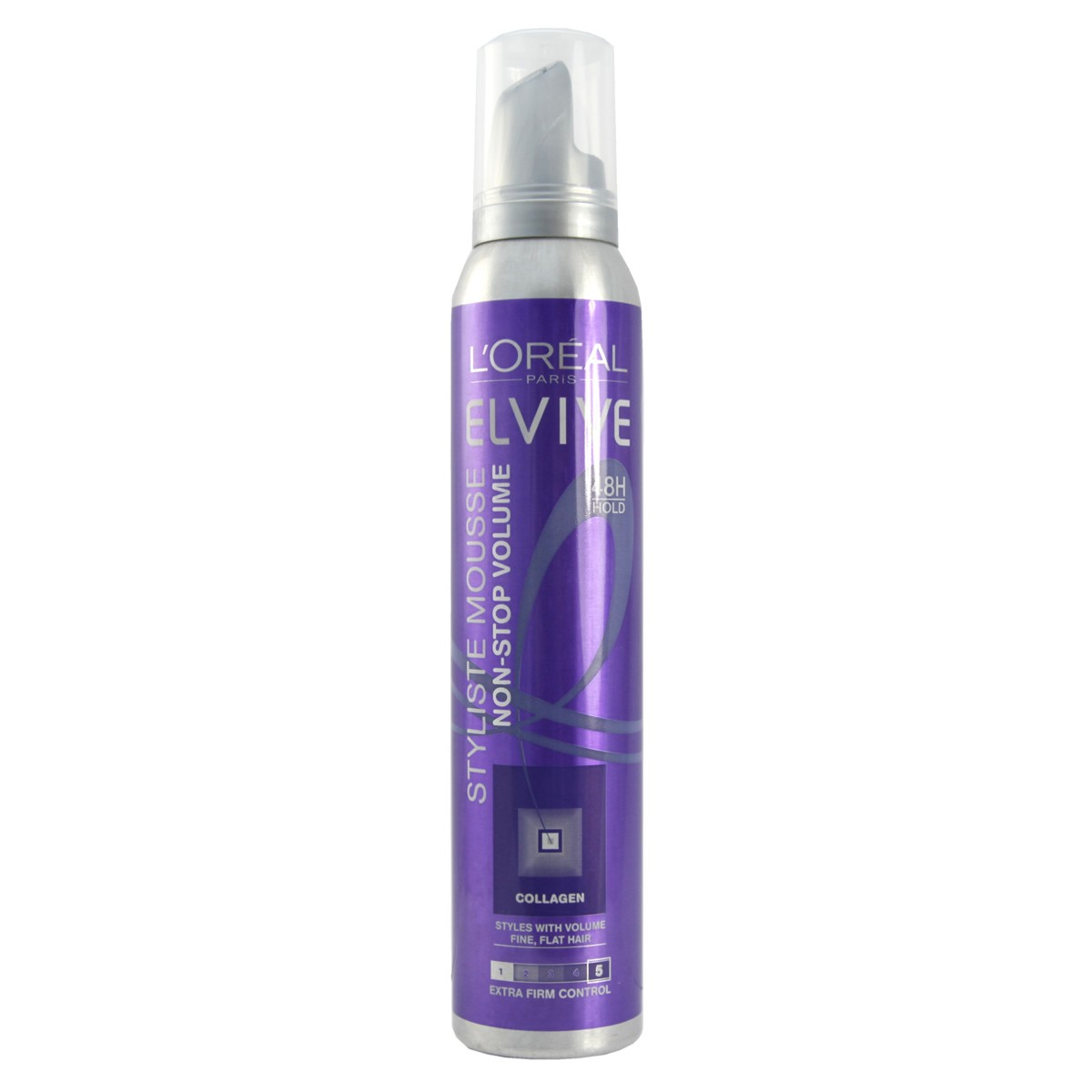 L'Oreal Paris Elvive Styliste Non- Stop Volume Extra Firm Mousse