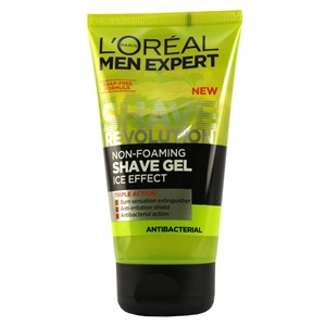 L'Oreal Paris Men Expert Shave Revolution Anti-Bacterial Non-Foaming Shave Gel