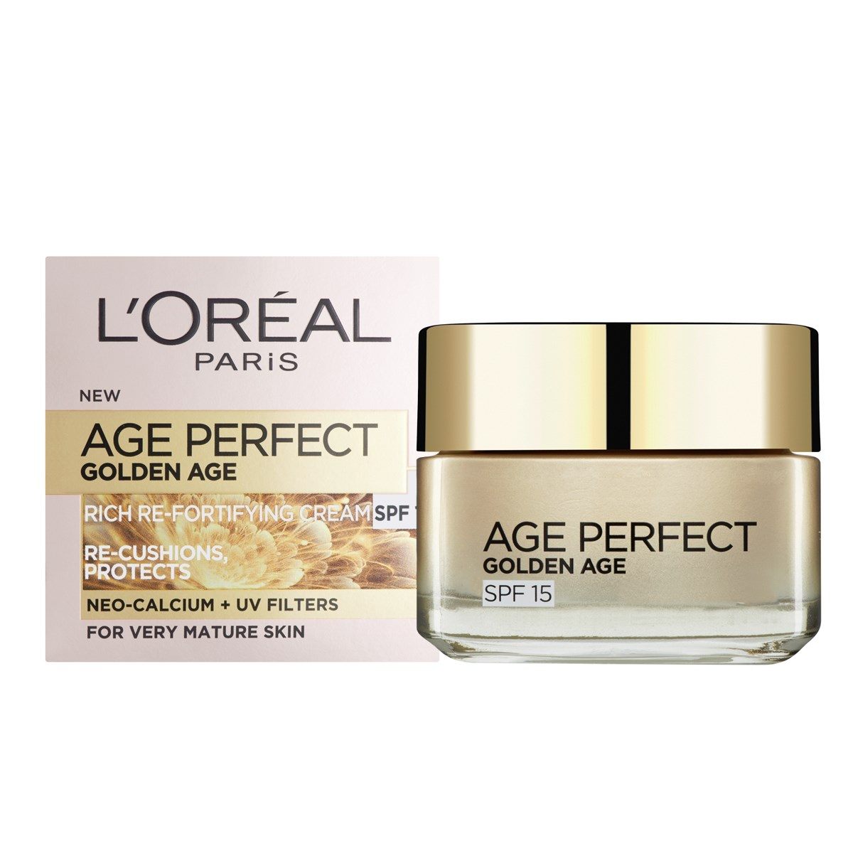 L'Oreal Paris Age Perfect Golden Age Rich Re-Fortifying SPF15 Day Cream