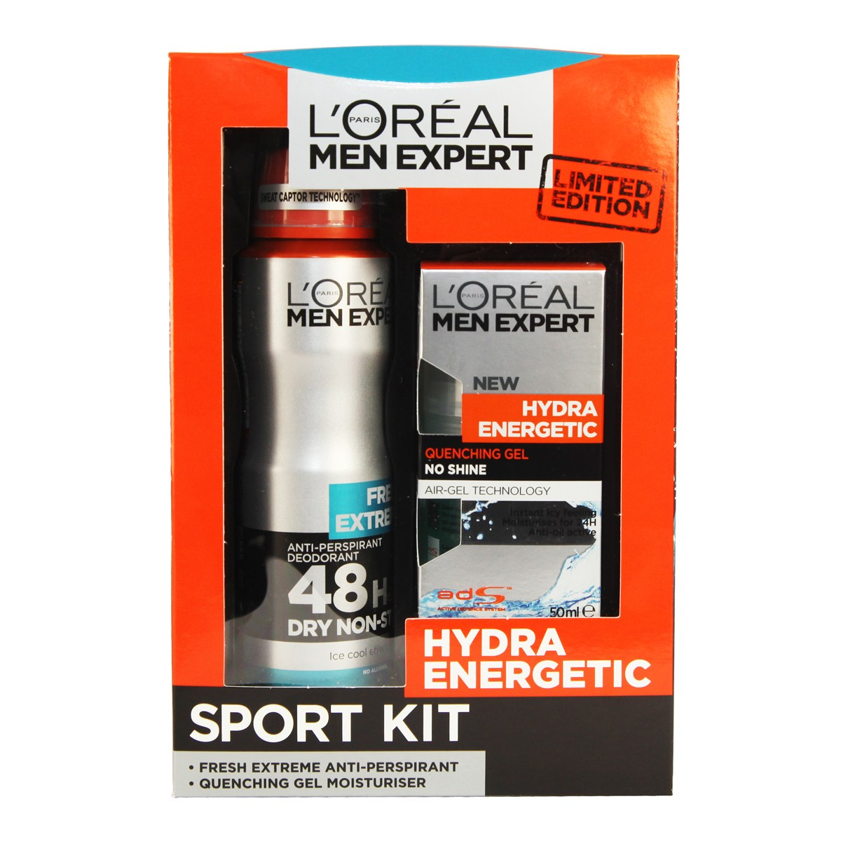L'Oreal Paris Men Expert Hydra Energetic Sport Kit
