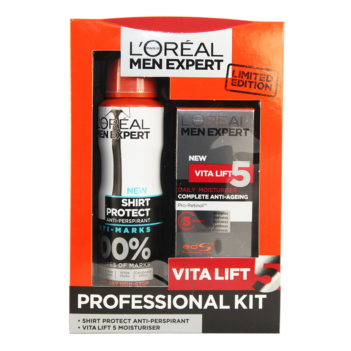 L'Oreal Paris Men Expert Vitalift 5 Professional Kit