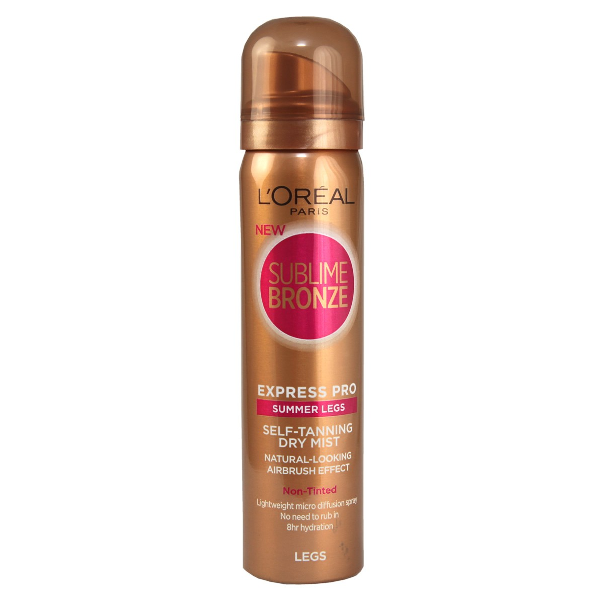 L'Oreal Paris Sublime Bronze Express Pro Summer Legs Self-tanning Dry Mist