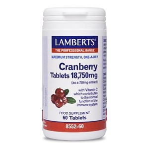 Lamberts Cranberry Tablets 18,750mg