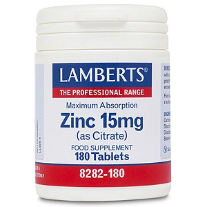 Lamberts Zinc 15mg (as Citrate)