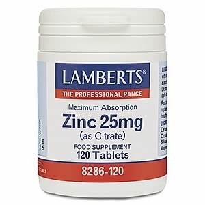 Lamberts Zinc 25mg (as Citrate)