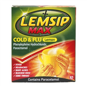 Lemsip Max Cold & Flu Lemon