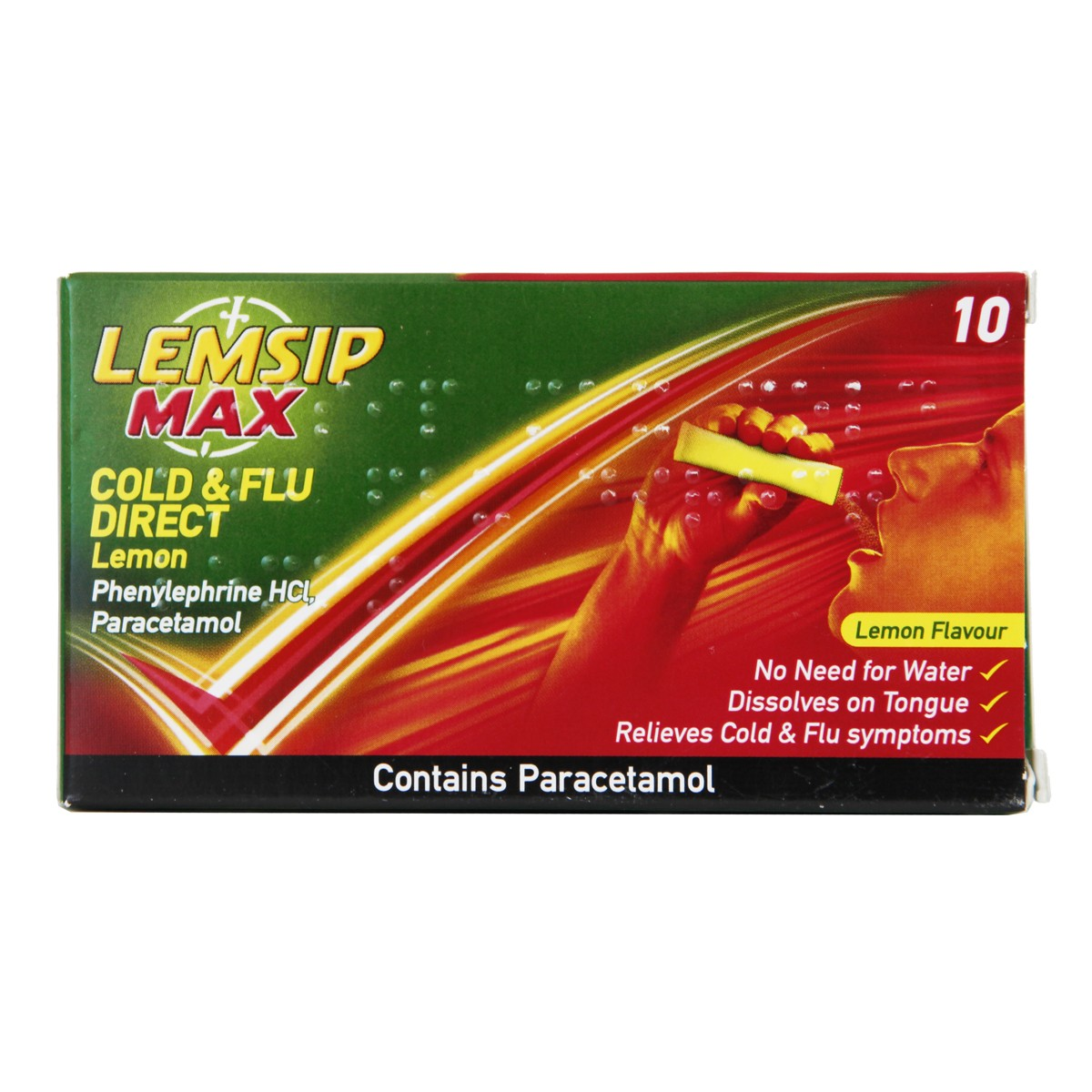 Lemsip Max Cold & Flu Direct Lemon