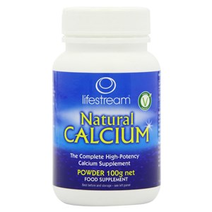 Lifesteam Natural Calcium Organic Powder