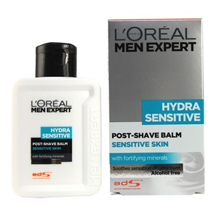 L'Oreal Paris Men Expert Hydra Sensitive Post-Shave Balm for Sensitive Skin