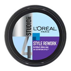 L'Oreal Paris Studio Line Style Rework Architect Shine Wax