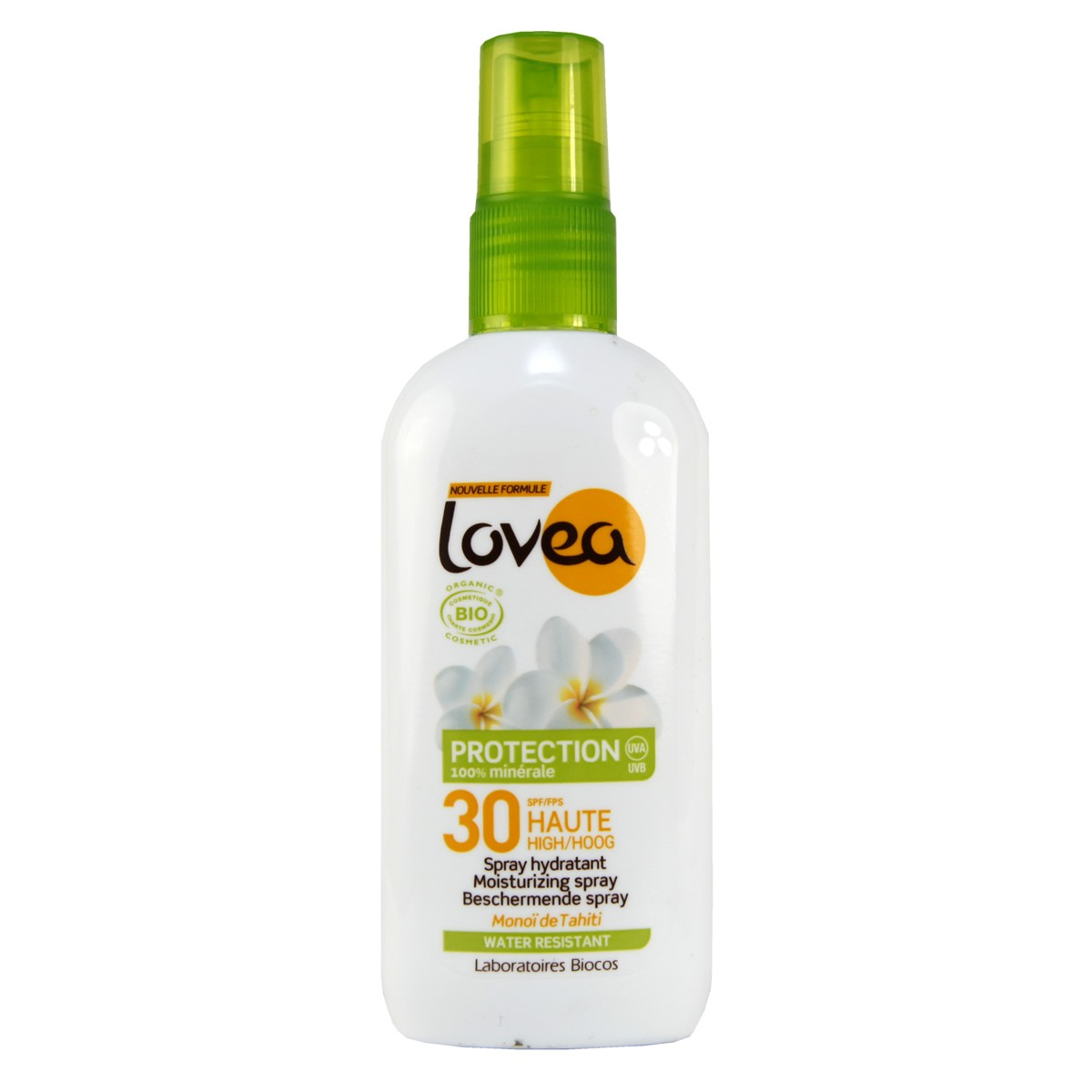 Lovea Organic Sunscreen  SPF 30 Natural Sunscreen Spray (New Formula)