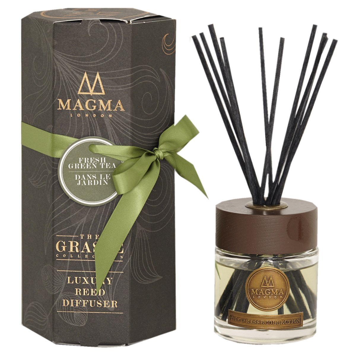 Magma London The Grasse Collection Luxury Reed Diffuser - Fresh Green Tea