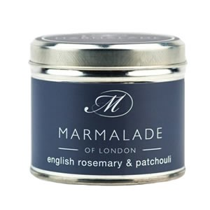 Marmalade of London English Rosemary & Patchouli Candle