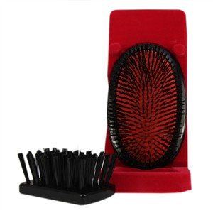 Mason Pearson Large Extra Pure Bristle Military B1M Hairbrush - Dark Ruby