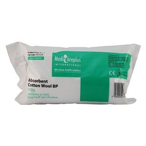 Medicareplus Absorbent Cotton Wool BP