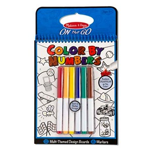 Melissa & Doug On The Go Color By Numbers Assortment
