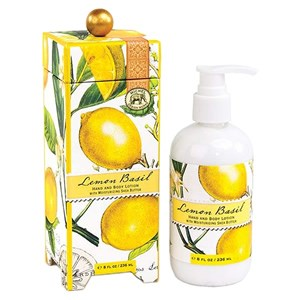Michel Design Works Lemon Basil Hand and Body Lotion