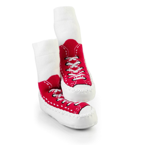 Mocc Ons Sneaker Red - 12-18 months